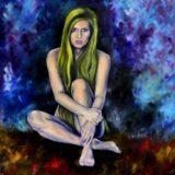 Laura - olej na sololitu - 138 x 123 cm -  r. 2013