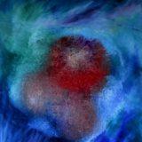 Mořský květ - olej na sololitu - 140 x 110 cm - r. 2007