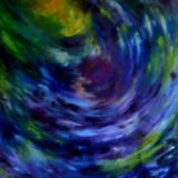 Tajemství - olej na sololitu - 138 x 123 cm - r. 2008
