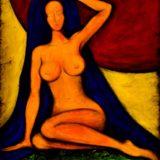 Bohyně klidu - akryl na plátně - 100 x 80 cm - r. 2014