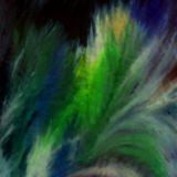 Usmíření - olej na sololitu - 140 x 110 cm- r. 2007