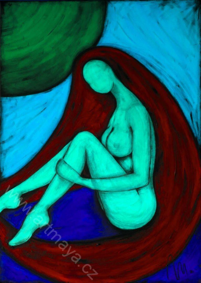 Bohyně hravosti - barevná varianta 1
